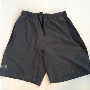 Under Armour grey shorts size Men's M